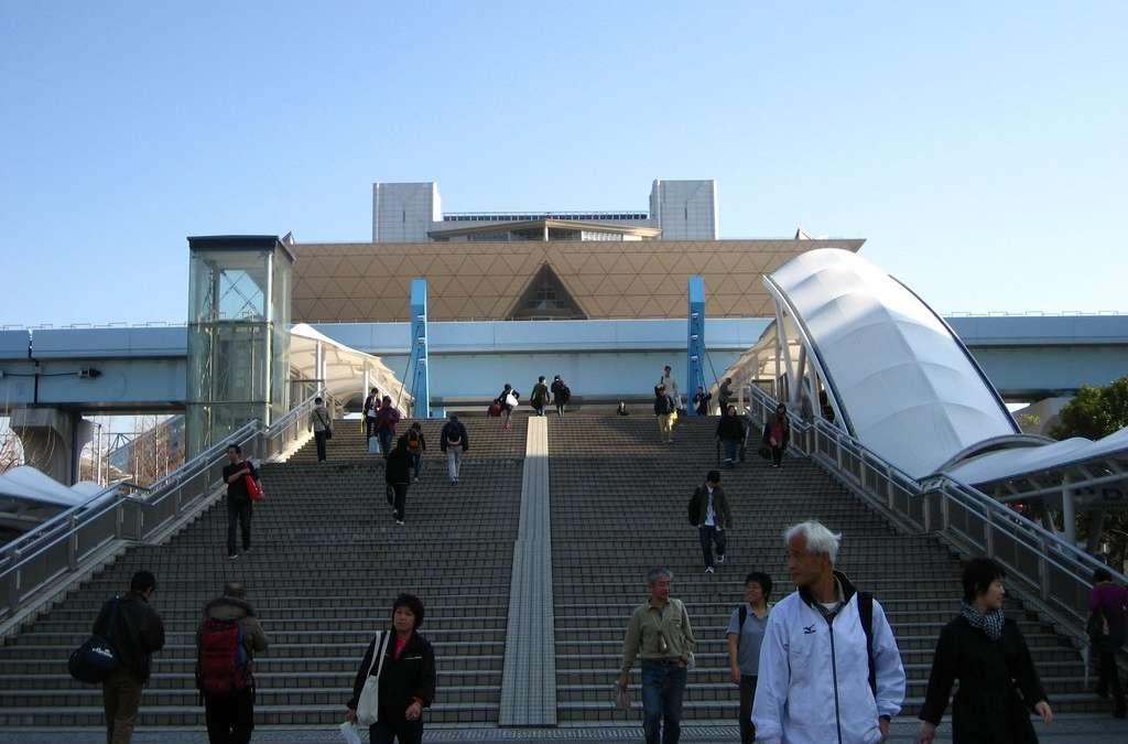 Japan : Tokyo Big Sight – conveyor