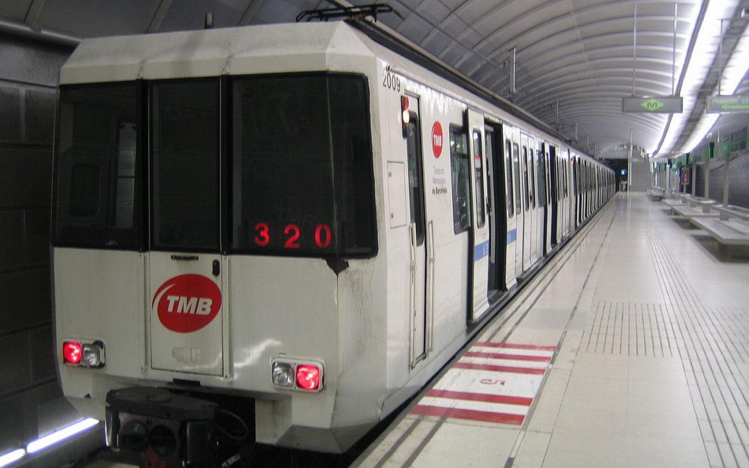 Metro journey, Barcelona