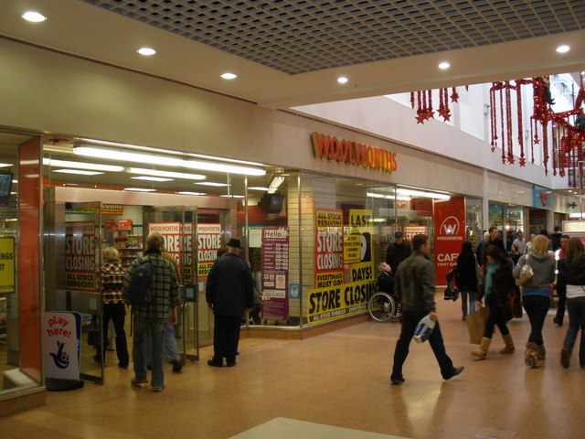 Exeter Guildhall Shopping Centre.