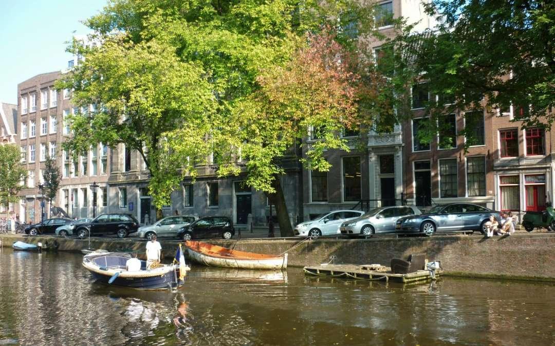 Amsterdam city street sounds