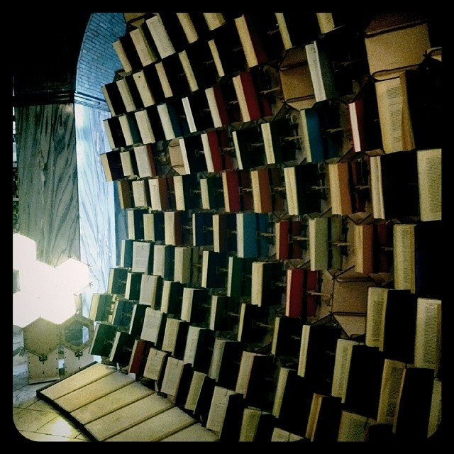Book Hive Installation
