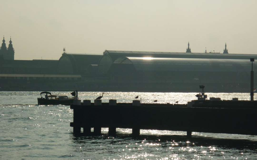Amsterdam – Sitting by the Ij
