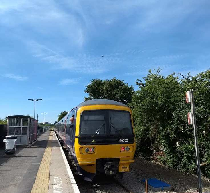 Train Journey From Bristol To Severn Beach, 23rd June 2018